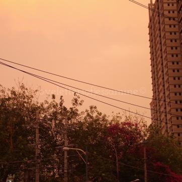 Sunset at EDSA