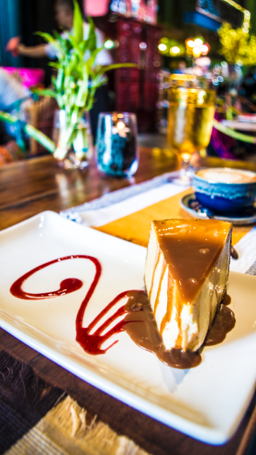 Salted Caramel Cheesecake (Php 215.00)